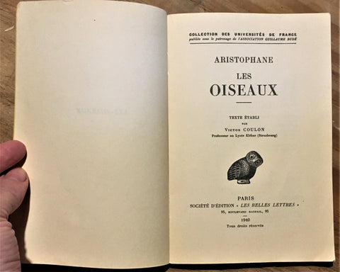 The Birds of Aristophanes - Les Oiseaux