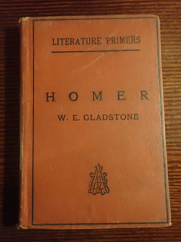 Homer  (Literature Primers)