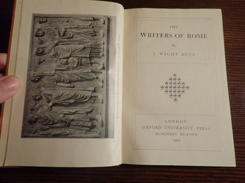 The Writers of Rome
