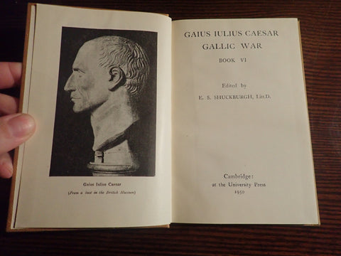 Caesar Gallic War VI