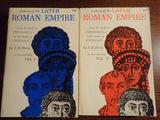 History of the Later Roman Empire, Vol. I & II