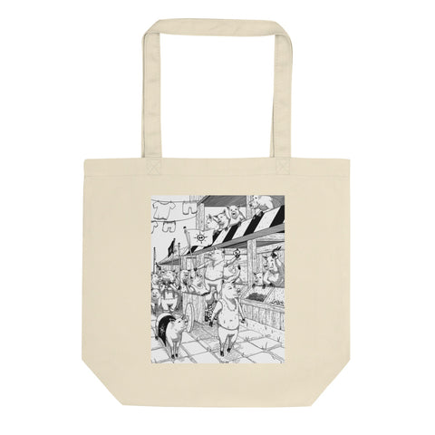 Pig War Tote Bag