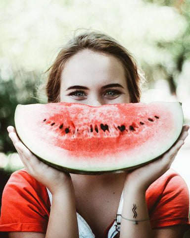 Watermelon for skin