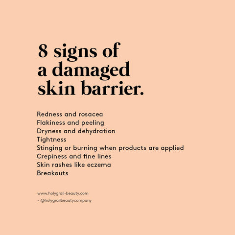 8 Signs Of A Damaged Skin Barrier