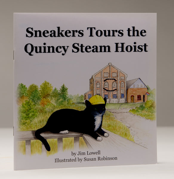 Book/Sneakers Tours the Quincy Steam Hoist