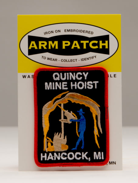 Quincy Mine Arm Patch