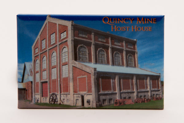 Quincy Mine Hoist House Magnet