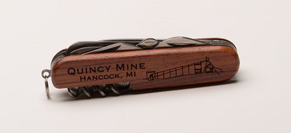 Quincy Mine Utility Knife