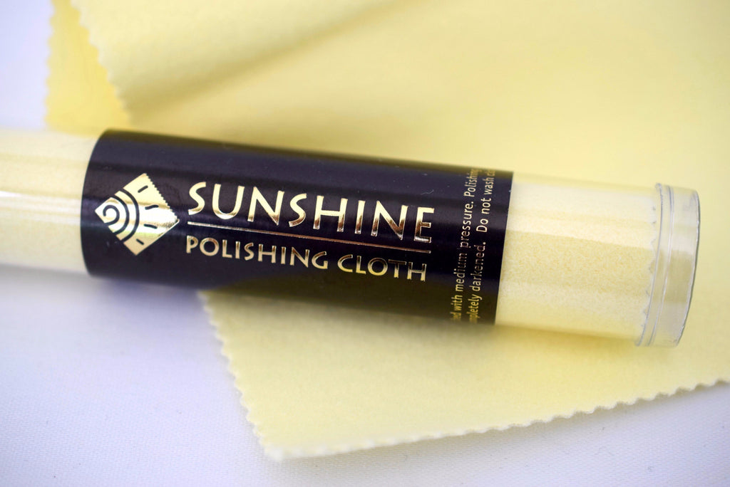 Sunshine Jewelry Cleaning Cloth - MILK VELVET PEARLS