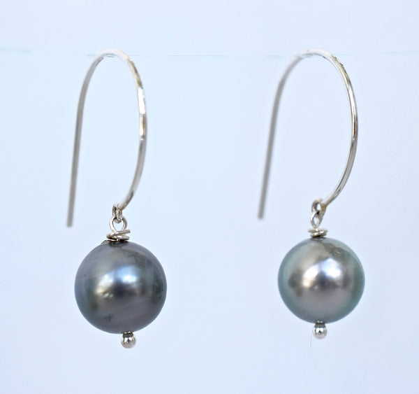 S/S Tahitian Pearl Earrings - MILK VELVET PEARLS