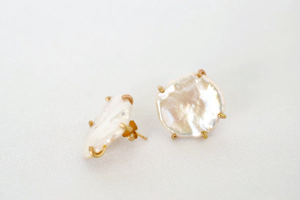 Lilies of the Field Earrings: 14k Gold Filled