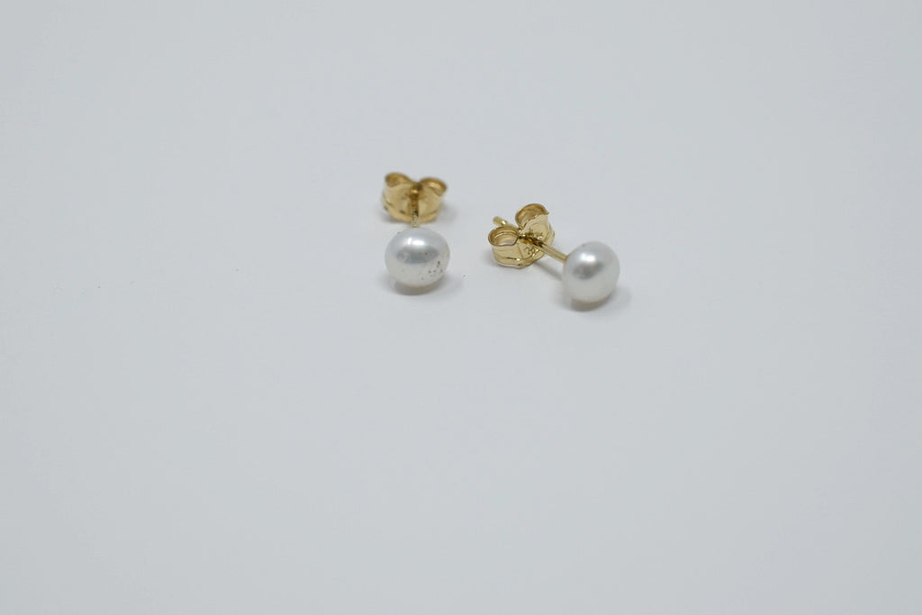 Little Girl Pearl Studs