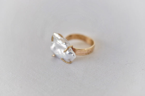 Lilies of the Field Ring: 14k Gold Filled