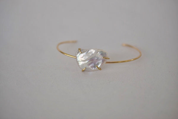 Lilies of the Field Bracelet: 14k Gold Filled