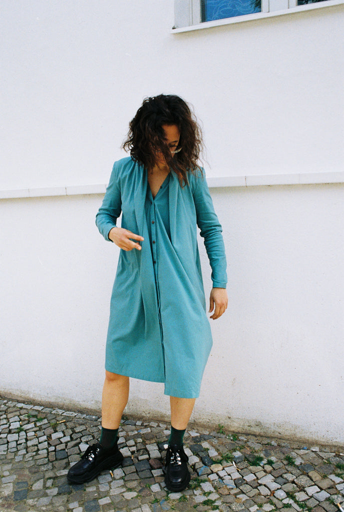 MINERAL DRESS TURQUOISE