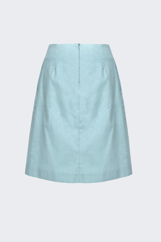 CRUBA - BERLIN FLOC SKIRT | shop fashion in Berlin Mitte Auguststrasse 28 German Fashion Design onlineshop