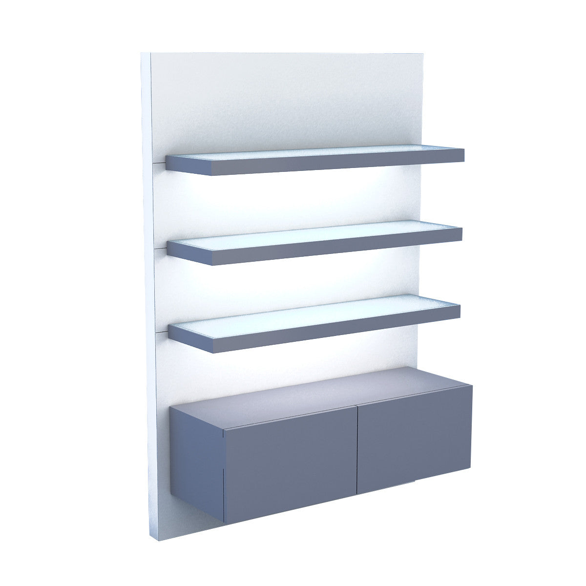 bentley collection 48 wall display touchamerica rh touchamerica com product display wall shelves product display wall shelves