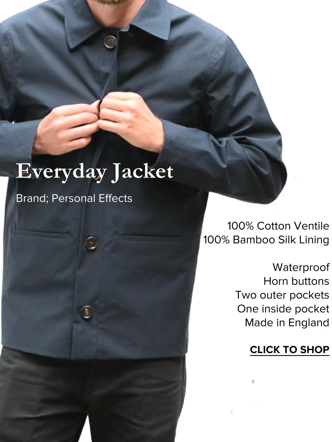 Summer Style Counsel_ WesternAssembly.com Waterproof Jacket by Personal Effects