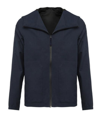 Waterproof Mens Hooded Shell Jacket from Wolsey at WesternAssembly.com