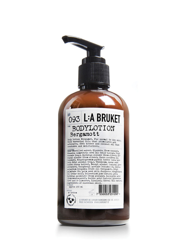 L:A Bruket Bergamot + Patchouli Body Lotion No.093 (250ml)