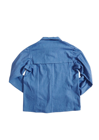 Bee Blue Chambray Work Shirt