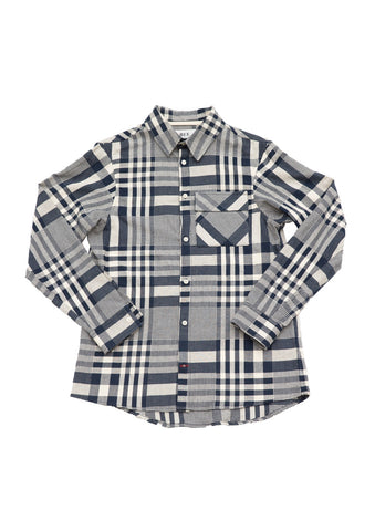 Bee Japanese Cotton Checked Work Shirt