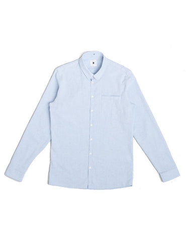 Delikatessen Slim Soft Blue Shirt