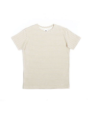 Delikatessen Cool Beige Striped T-Shirt