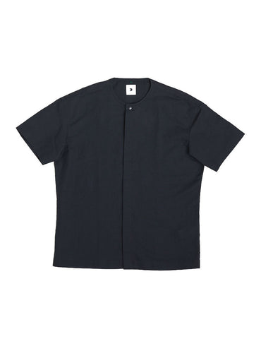 Delikatessen Minimal Short Sleeve Black Shirt
