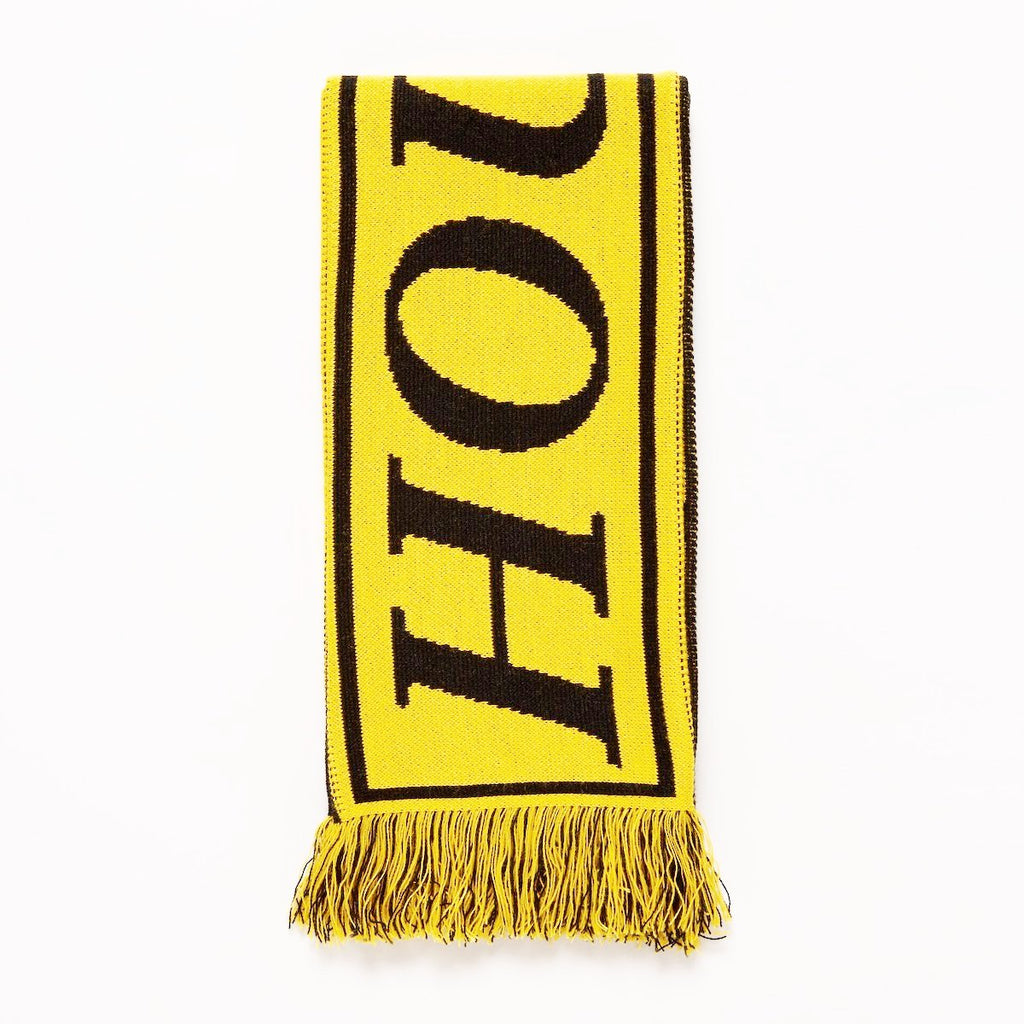 SCRT 'House On A Hill' Scarf in Yellow