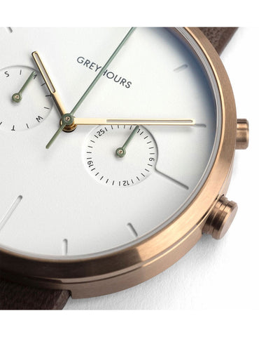 Greyhours Vision Classic Champagne Watch