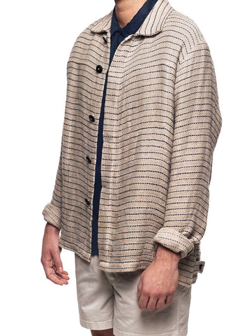 Mews Mallorca Guayan Striped Overshirt