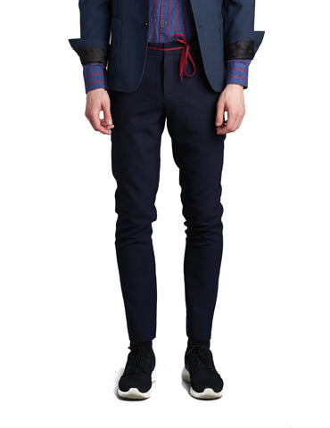Delikatessen Tailored Navy Trousers
