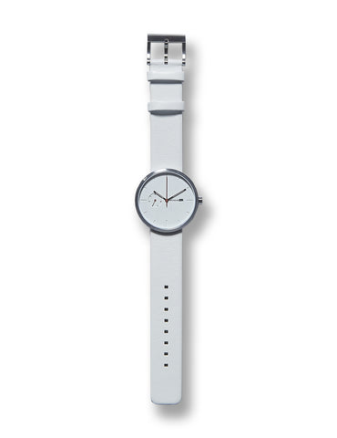 Greyhours Essential Light Hours Watch White