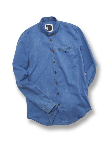 Delikatessen Blue Denim Shirt