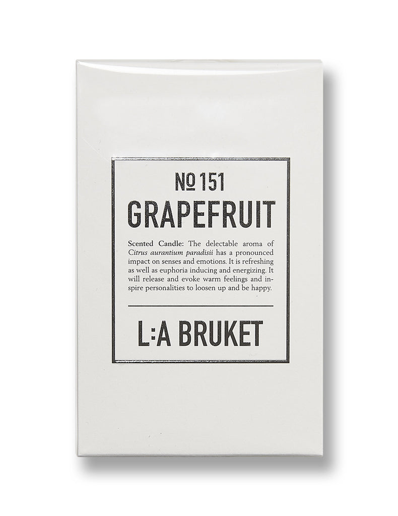 L:A Bruket Grapefruit Candle No.151 (120G)