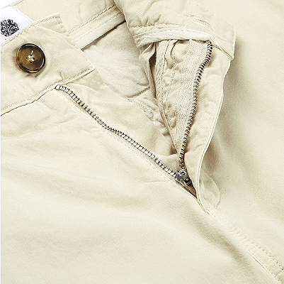 Wolsey Beige Cotton Trousers