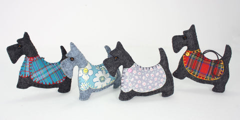 Scottie dog ornaments