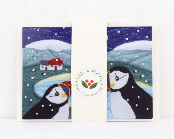 Puffin Christmas cards