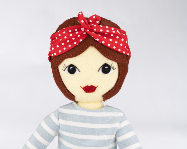 Tilly doll sewing pattern