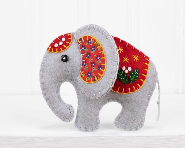 elephant felt craft kit