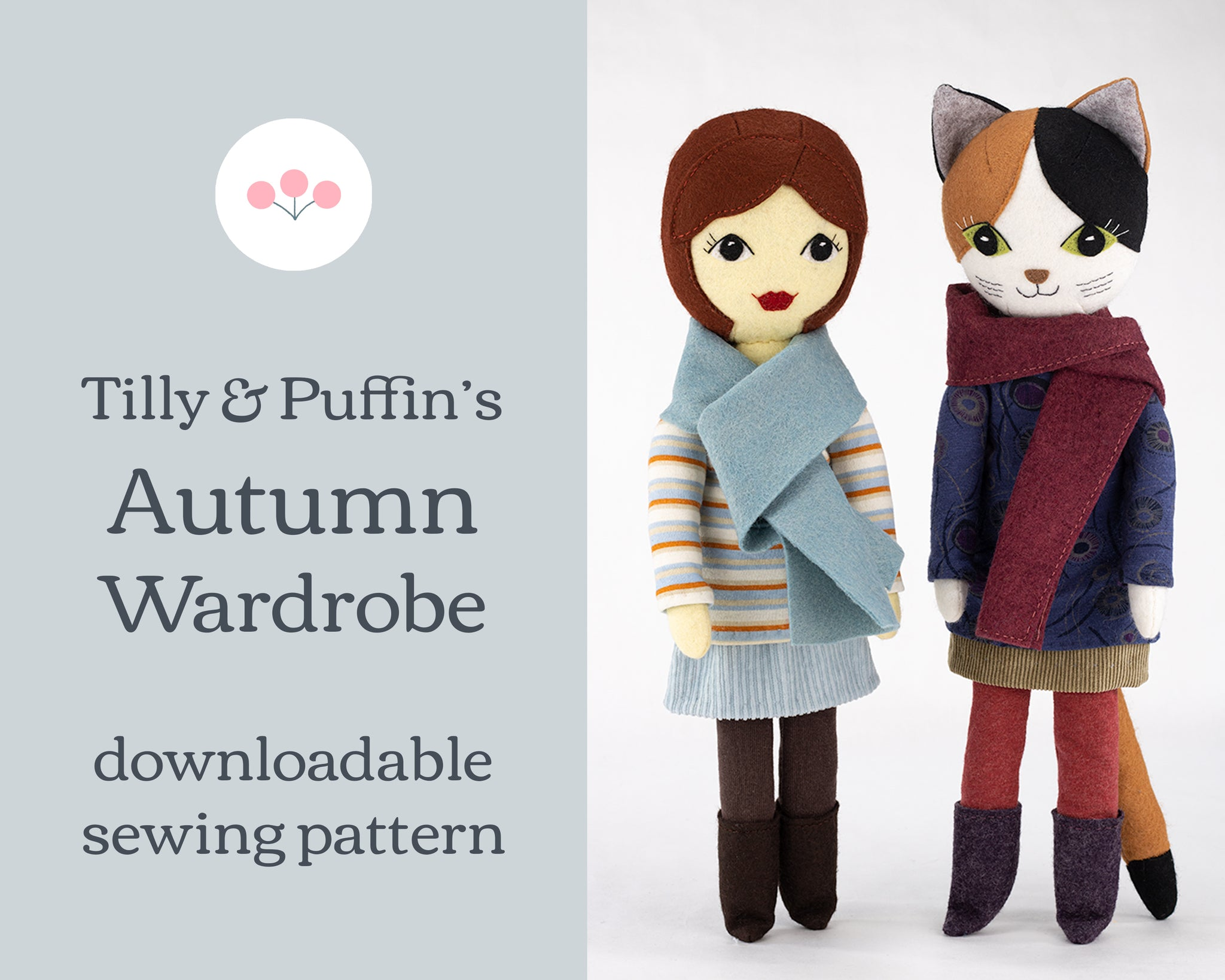 Tilly & Puffin's Autumn Wardrobe Clothes Pattern