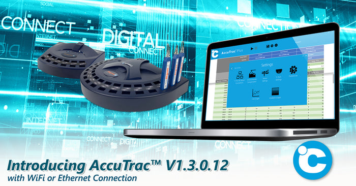 Multi-point Airflow Measurement Simpler with New AccuTrac™ Software & °C Port Wi-Fi Instruments
