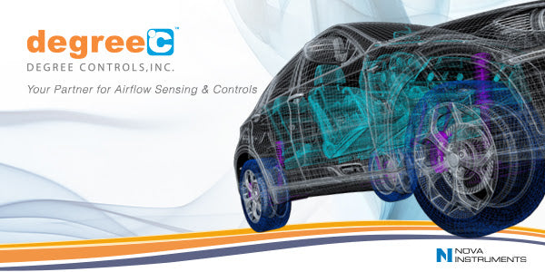 UAS1000 Advances Vehicle Aerodynamics - Multipoint airflow sensing & instrumentation for automotive development