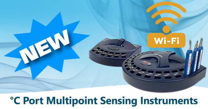 DegreeC's New °C Port Wi-Fi Data Acquisition Instruments for Multipoint Measurements of Air Velocity, Temperature, and Humidity