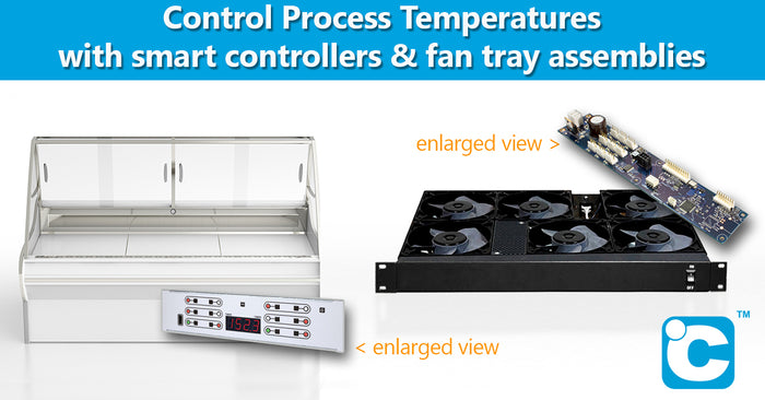 Thermal Management Controllers Fan Tray Assemblies