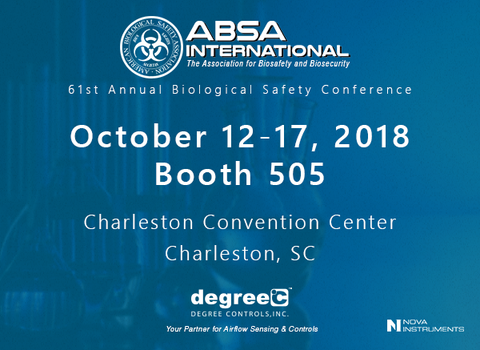 DegreeC to Exhibit at 61st Annual Biological Safety Conference