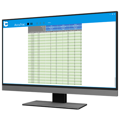 AccuTrac Data Logging Software