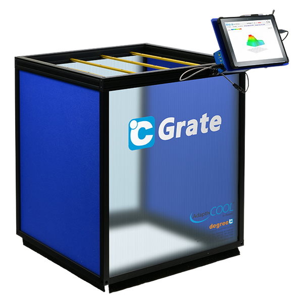°C Grate -  Volumetric Airflow Measurement Tool
