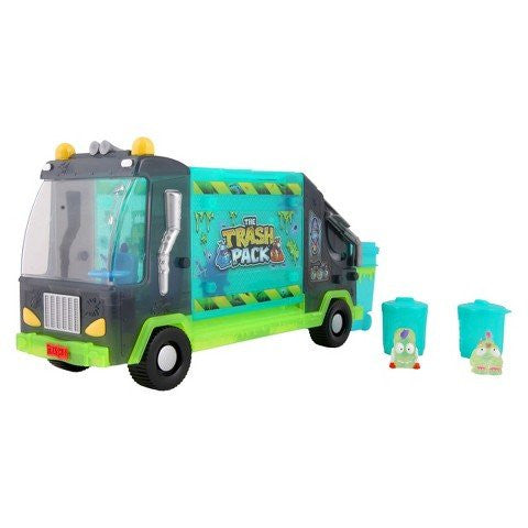 The Trash Pack Ghost Series Garbage Truck with 2 Exclusive Trashies